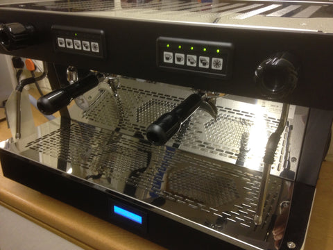 'Warner Coffees' - Brand New Traditional 2 Group Coffee Machine.