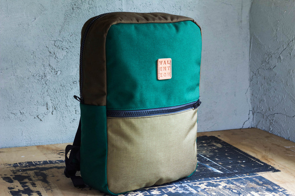 Green Backpack - Valentich