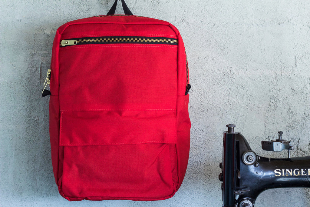 Red Zipper Pack - Valentich