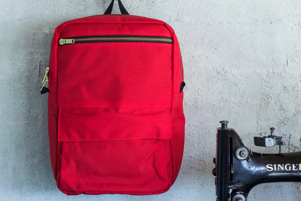 Red Zipper Pack