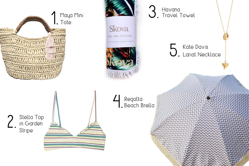 Living Luxe on Vacation: Your Ultimate List of Beach Essentials