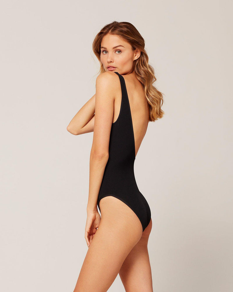 RIBBED FLOAT ON ONE PIECE SWIMSUIT - The Island Girl
