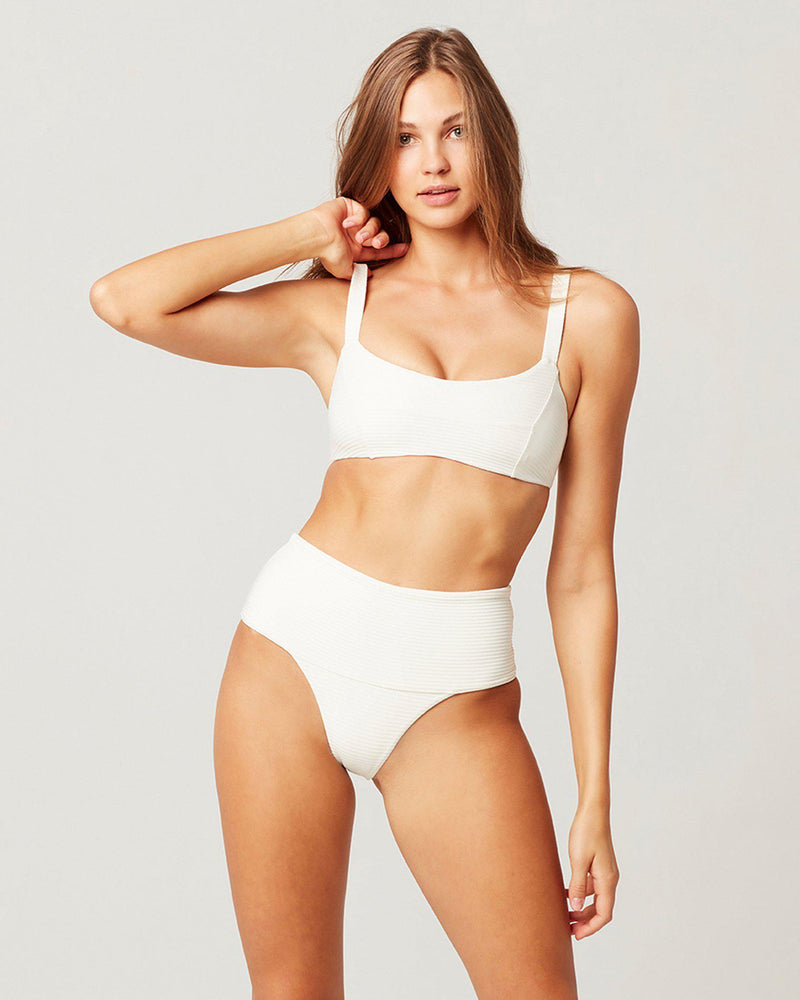 ECO CHIC REPREVE® DESI BIKINI BOTTOM - The Island Girl