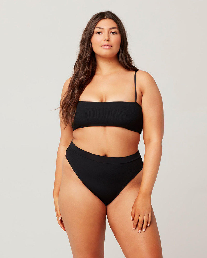 RIBBED FRENCHI BIKINI BOTTOM - The Island Girl