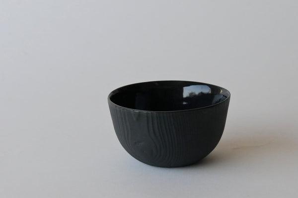 Woodgrain Porcelain Bowl