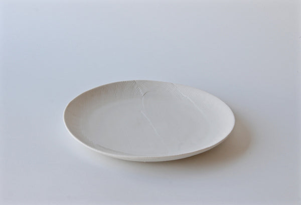 Woodgrain Porcelain Serving Plate