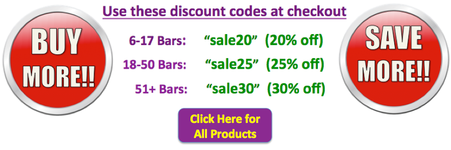 RAW Nature's Fuel Bars Discounts