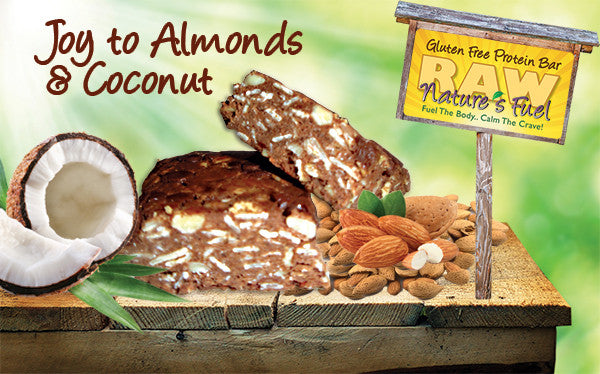 """Joy to Almonds and Coconut"" Chocolate Almond Coconut (18 Bars)"