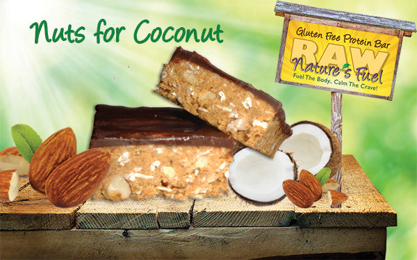 """Nuts for Coconut"" Vanilla Almond Coconut (18 Bars)"