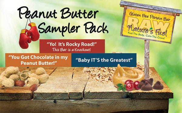 18 Pack Peanut Butter Sampler (6 of each)