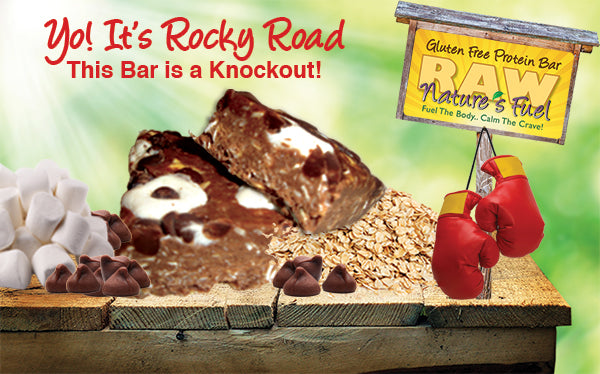 Yo! It's Rocky Road Chocolate Peanut Butter Protein Bar
