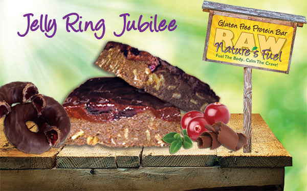 """Jelly Ring Jubilee"" Cranberry Chocolate (18 Bars)"
