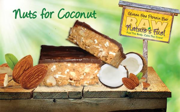 """Nuts for Coconut"" Vanilla Almond Coconut"