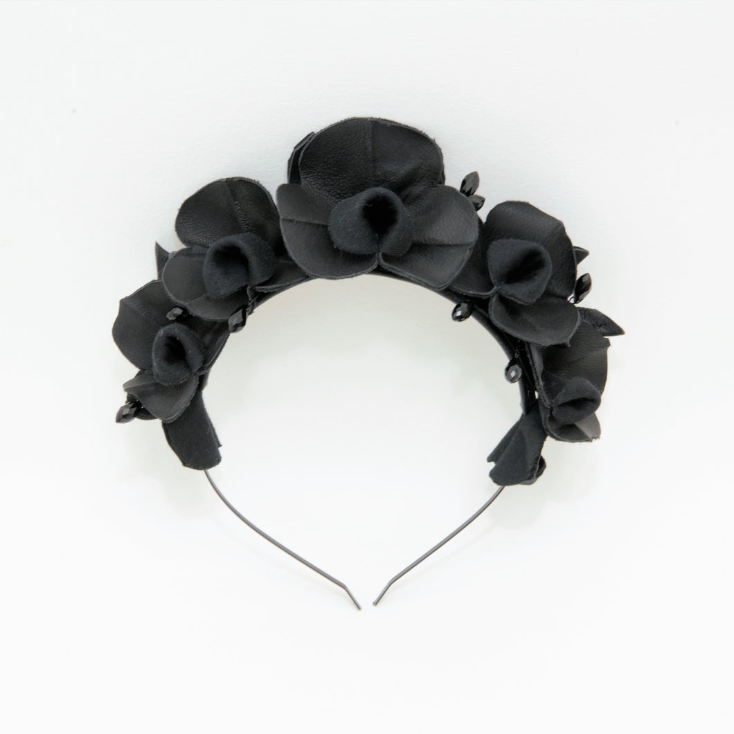 Orchid Crown by Kate Betts Hats