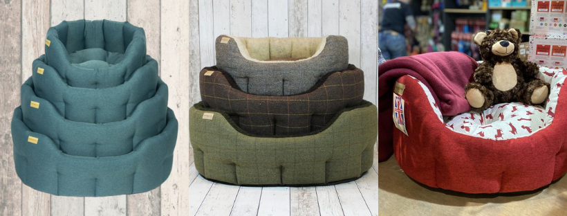 earthbound dog bed made in uk