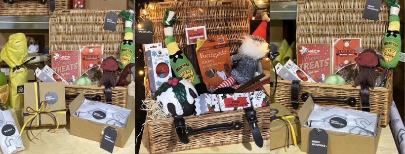 luxury christmas gift hamper for dogs