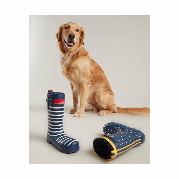 Joules Stripy Squeaky Welly Dog Toy - Doghouse