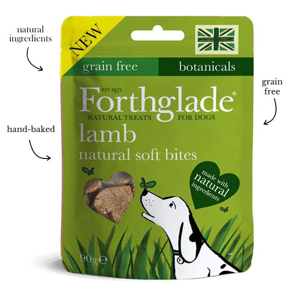 Forthglade Natural Love Heart Shaped Treats