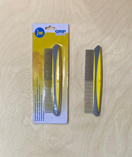 JW Dog Grooming Comb with Rotating Pins - Doghouse