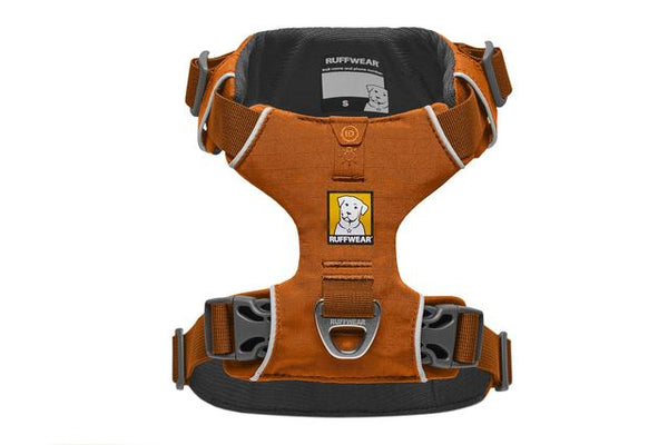 NEW Ruffwear Front Range® Dog Harness in Campfire Orange - Doghouse