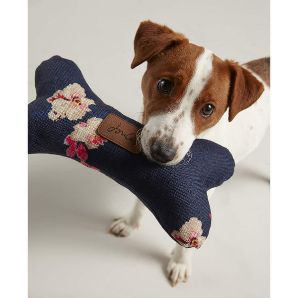 Joules Floral Bone Dog Toy - Doghouse