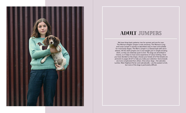 Dogs on Jumpers by Sally Muir & Joanna Osbourne - Doghouse