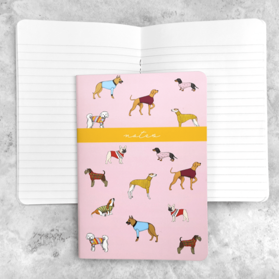 Goodchaps Notebooks with Dogs on - Gifts for Dog Lovers