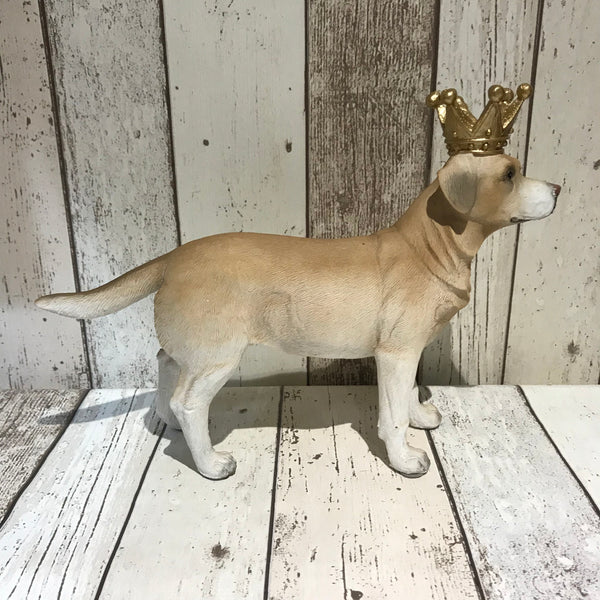 Labrador King Ornament - Doghouse