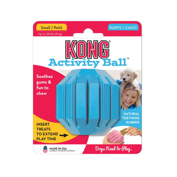Kong Puppy Activity Ball - Doghouse