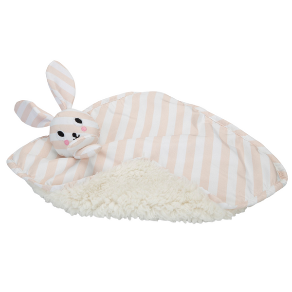 Beeztees Puppy Cuddle Bunny Blanket Toy