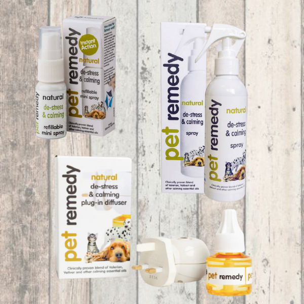 Pet remedy calming sprays for dogs