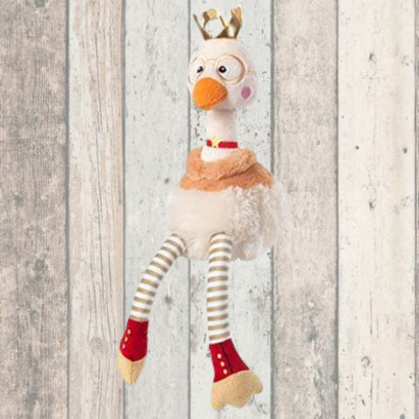 Majestic Goose With Crown Dog Toy - Doghouse