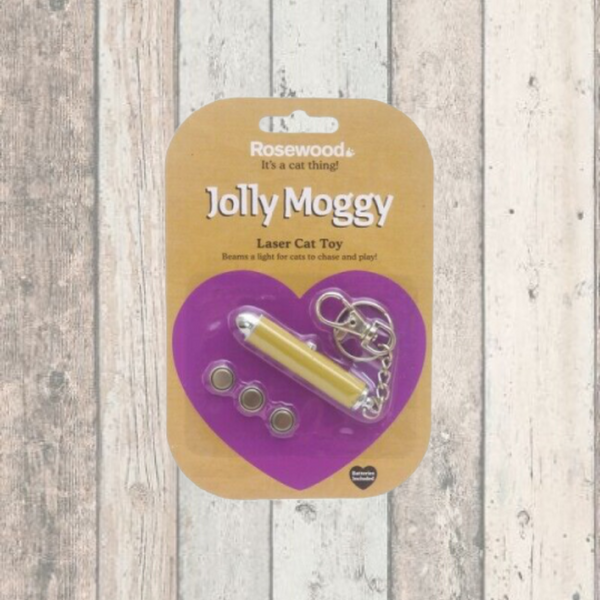 Jolly Moggy Cat Laser Toy - Doghouse