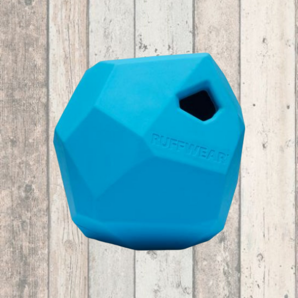 Gnawt-a-Rock™ Rubber Dog Toy by Ruffwear - Doghouse