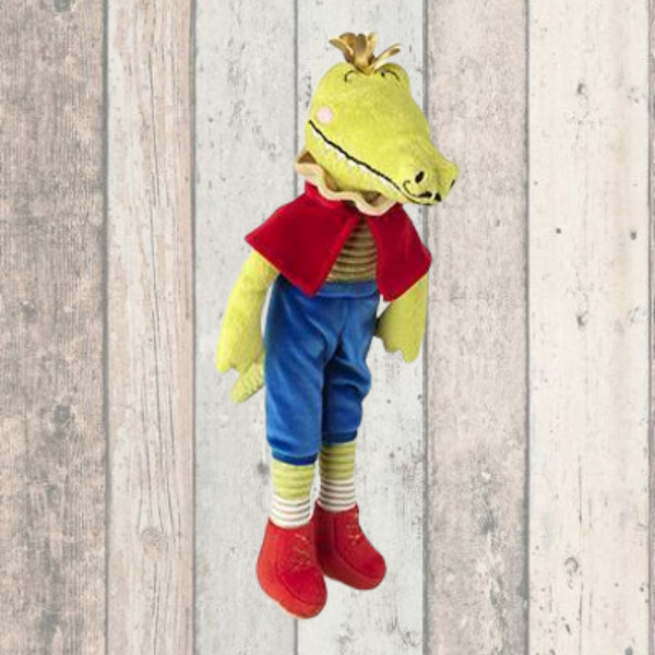 Majestic Crocodile With Crown Dog Toy - Doghouse