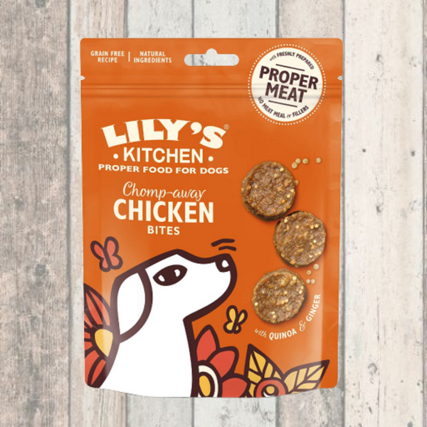 Lily's Kitchen New Chicken Bites - Doghouse