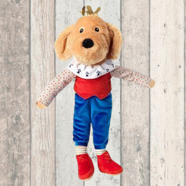 Majestic Dog With Crown Dog Toy - Doghouse