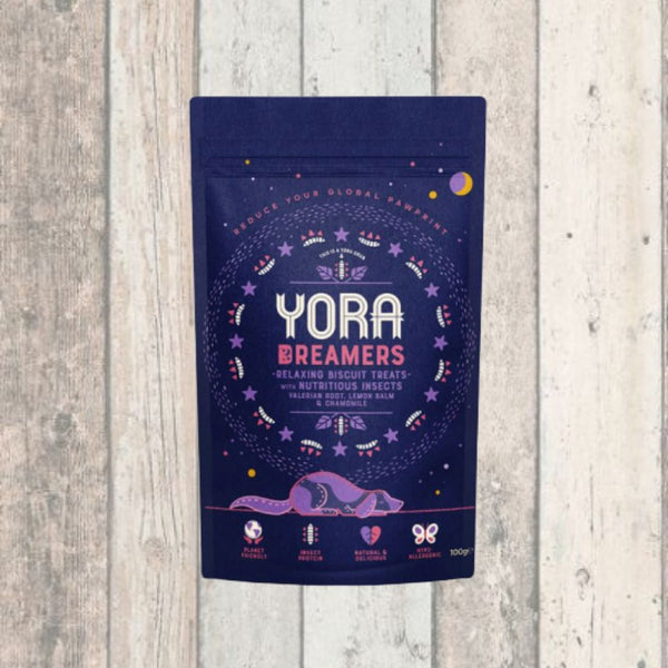 Yora Dreamers Insect Treats for Dogs 100g - Doghouse
