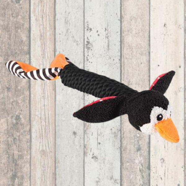 Penguin Rope Toy - Doghouse
