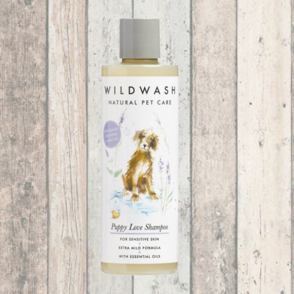 Wildwash Puppy Love Shampoo - Doghouse