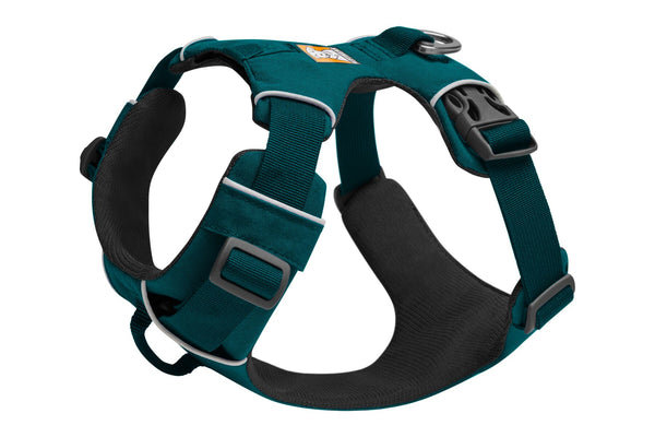 NEW Ruffwear Front Range® Dog Harness in Tumalo Teal - Doghouse