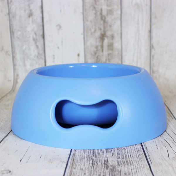 Bone Dog Bowl Blue