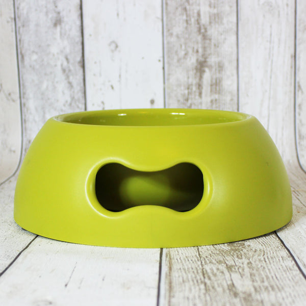 Bone Dog Bowl Lime - Doghouse