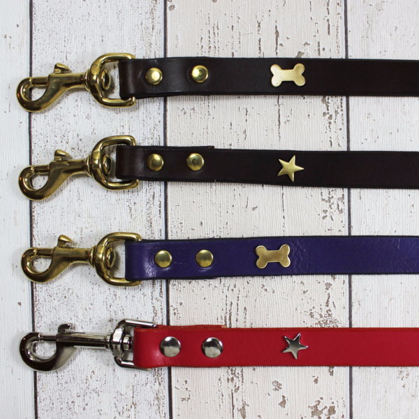 Creature Clothes Chocolate Star Dog Lead - Doghouse