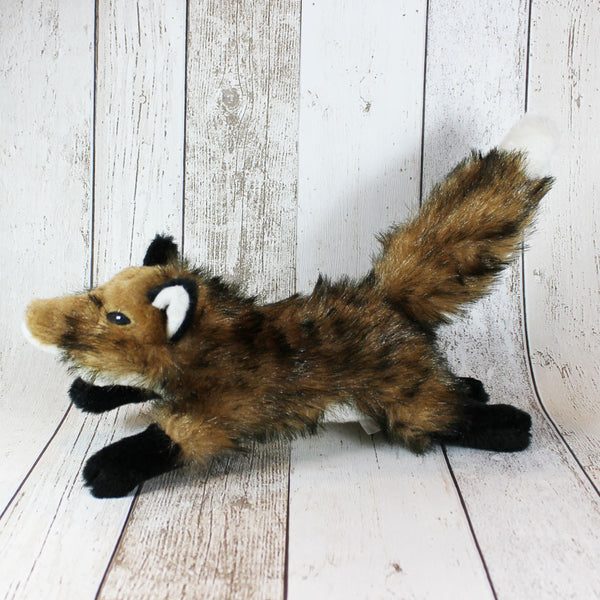 Country Fox Dog Toy
