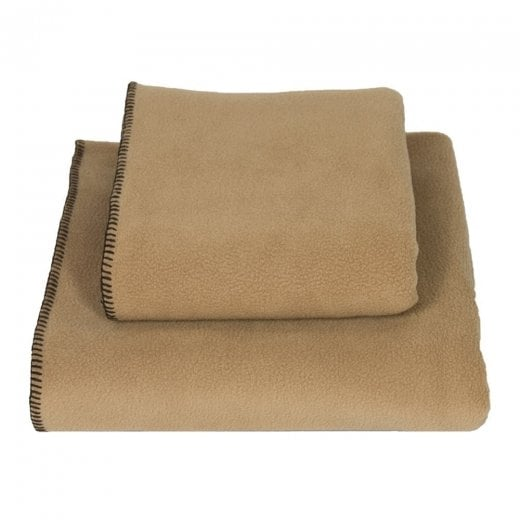 Stitched Fleece Blanket - Doghouse