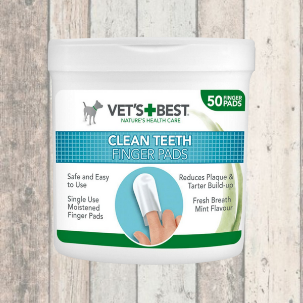 tooth cleaning pads for dogs