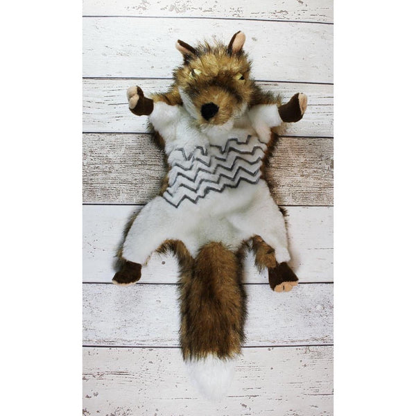 Road Kill Fox Dog Toy - Doghouse