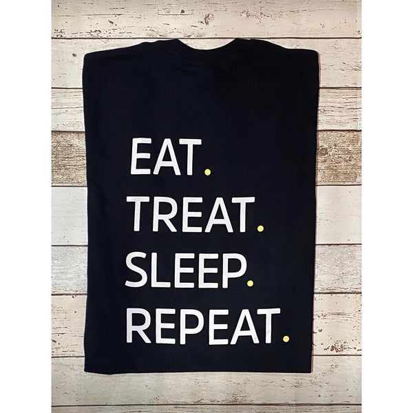 Eat, Treat, Sleep, Repeat T-Shirt - Doghouse