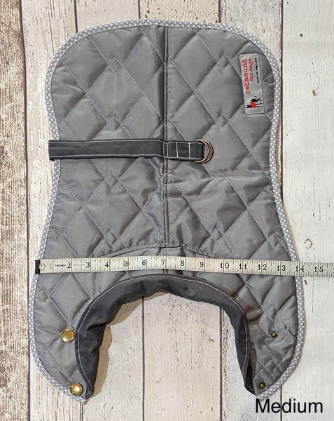 New Quilted Dachshund Coat - Doghouse